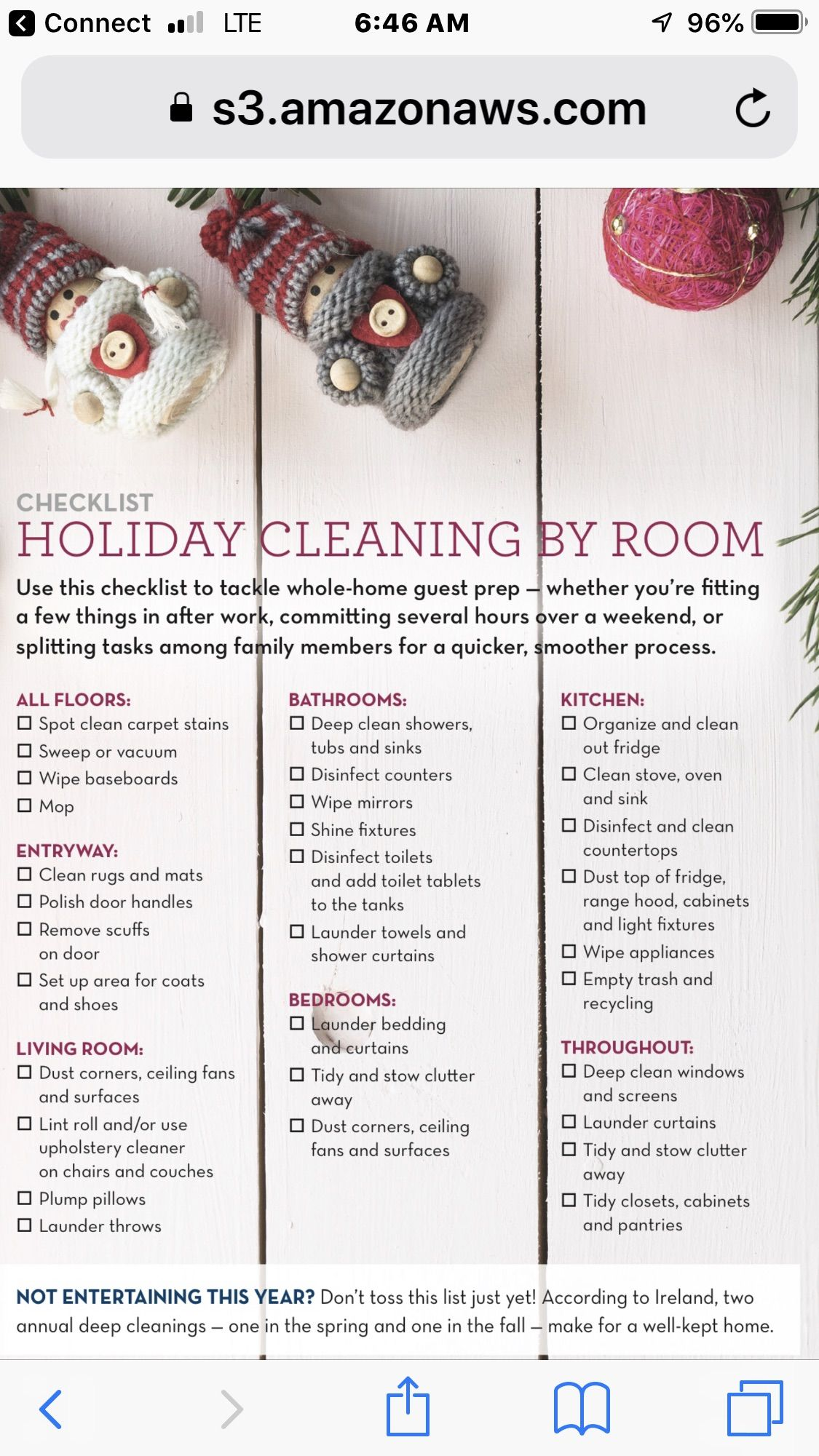 Pin By Wendy Rubin On Really Useful Stuff Holiday Cleaning