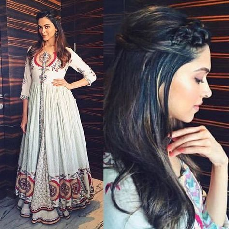 Deepika Padukone for Tamasha Promtions in Vrisa by Rahul ...