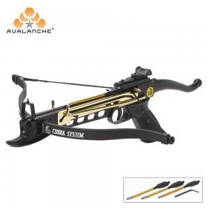Small Game Hunting 80lb 165 FPS Cobra System Self Cocking Crossbow with Scope
