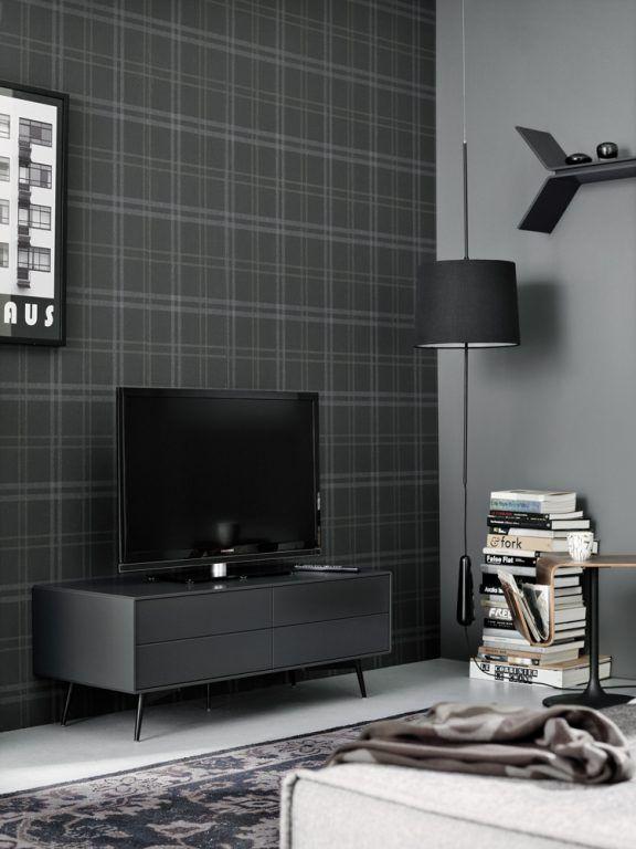 m bel zur aufbewahrung von boconcept wohnzimmer pinterest dunkle tapete. Black Bedroom Furniture Sets. Home Design Ideas