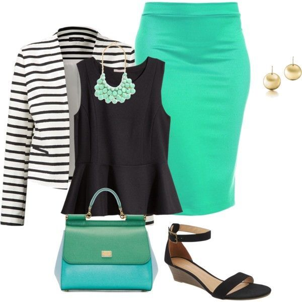 7 bright work clothes for women combinations - Page 5 of 7 - women ...