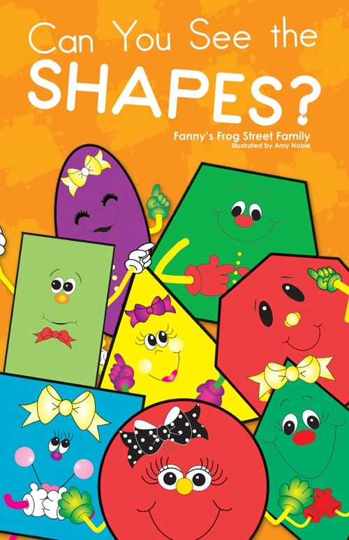 Can You See Shapes Big Book Frog Street Press Frog Street