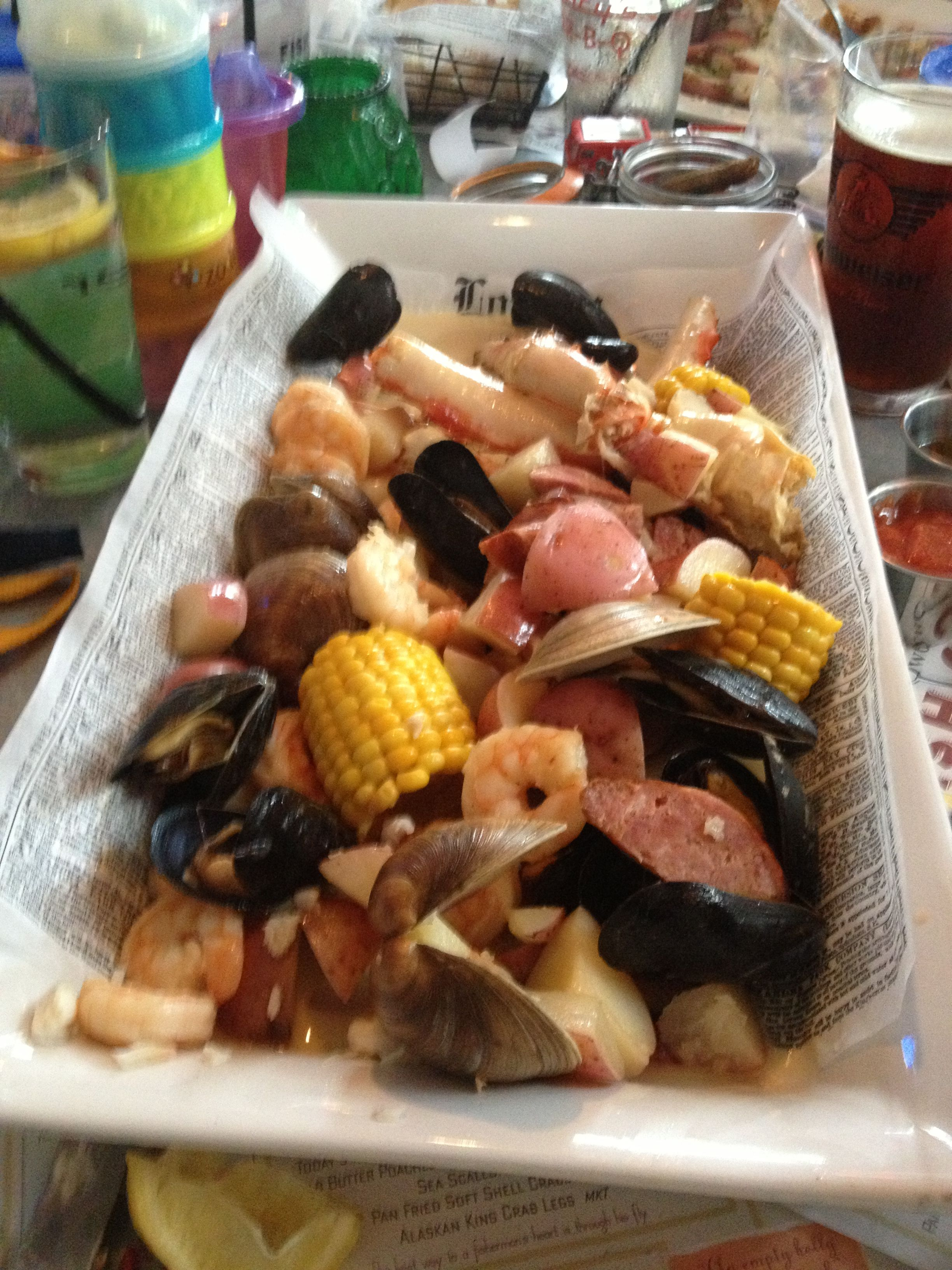 Low Country Boil at Owen\'s Fish Camp in Sarasota, FL | Restaurants ...