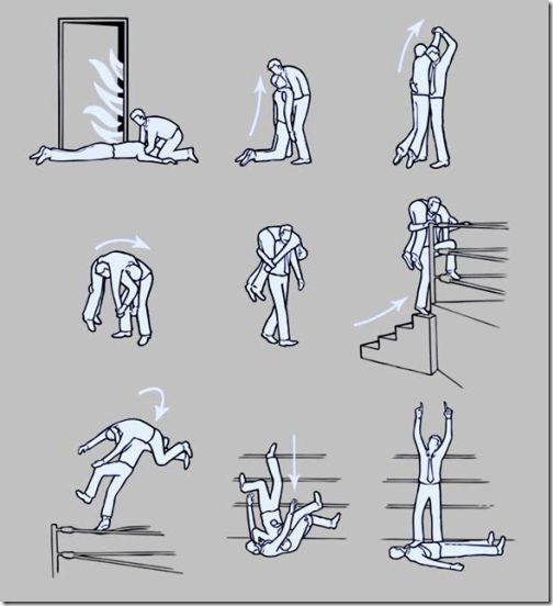 What to do in case of fire