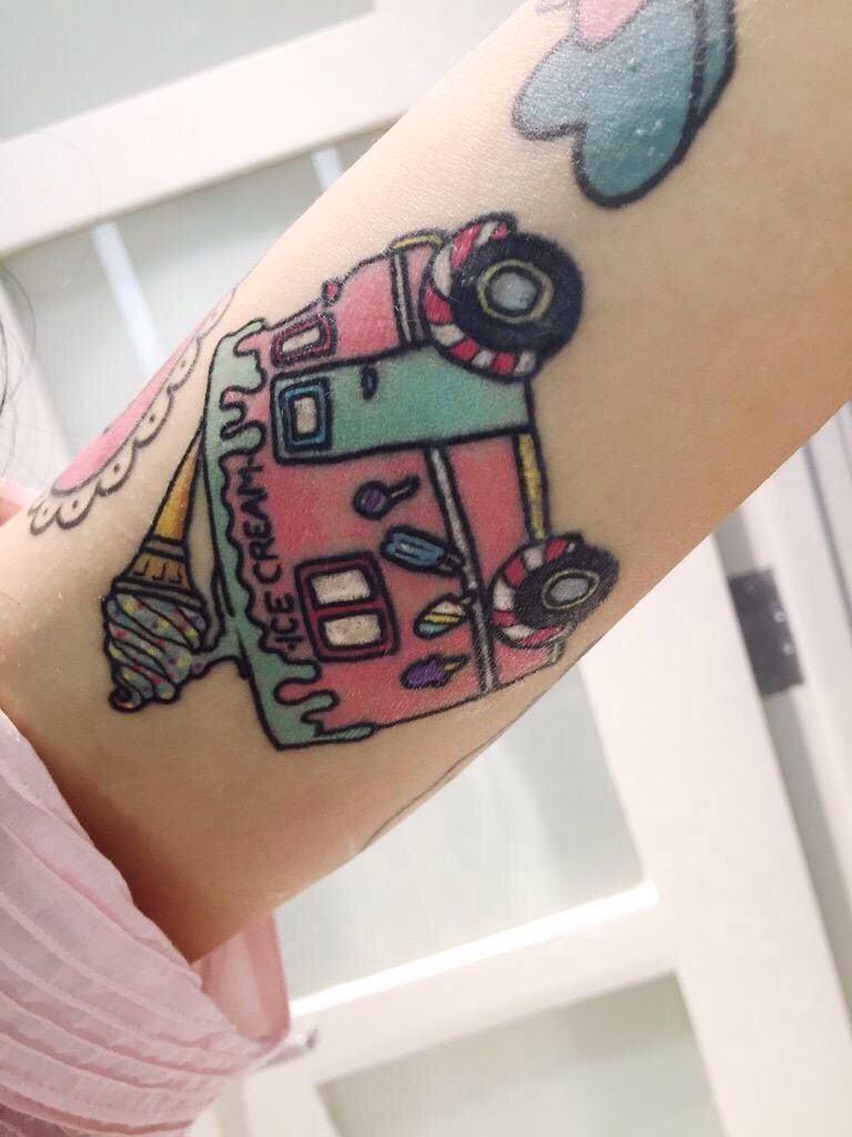 Melanie Martinez Tattoo Melanie Martinez Tattoos Girl Tattoos
