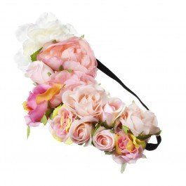 Add some floral glamour to your track-side look this racing season with this Flower Garden Hair Garland!