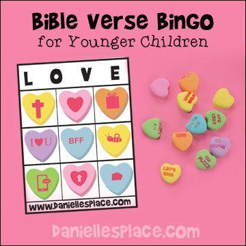 bible lessons - Valentine Sunday School Lesson