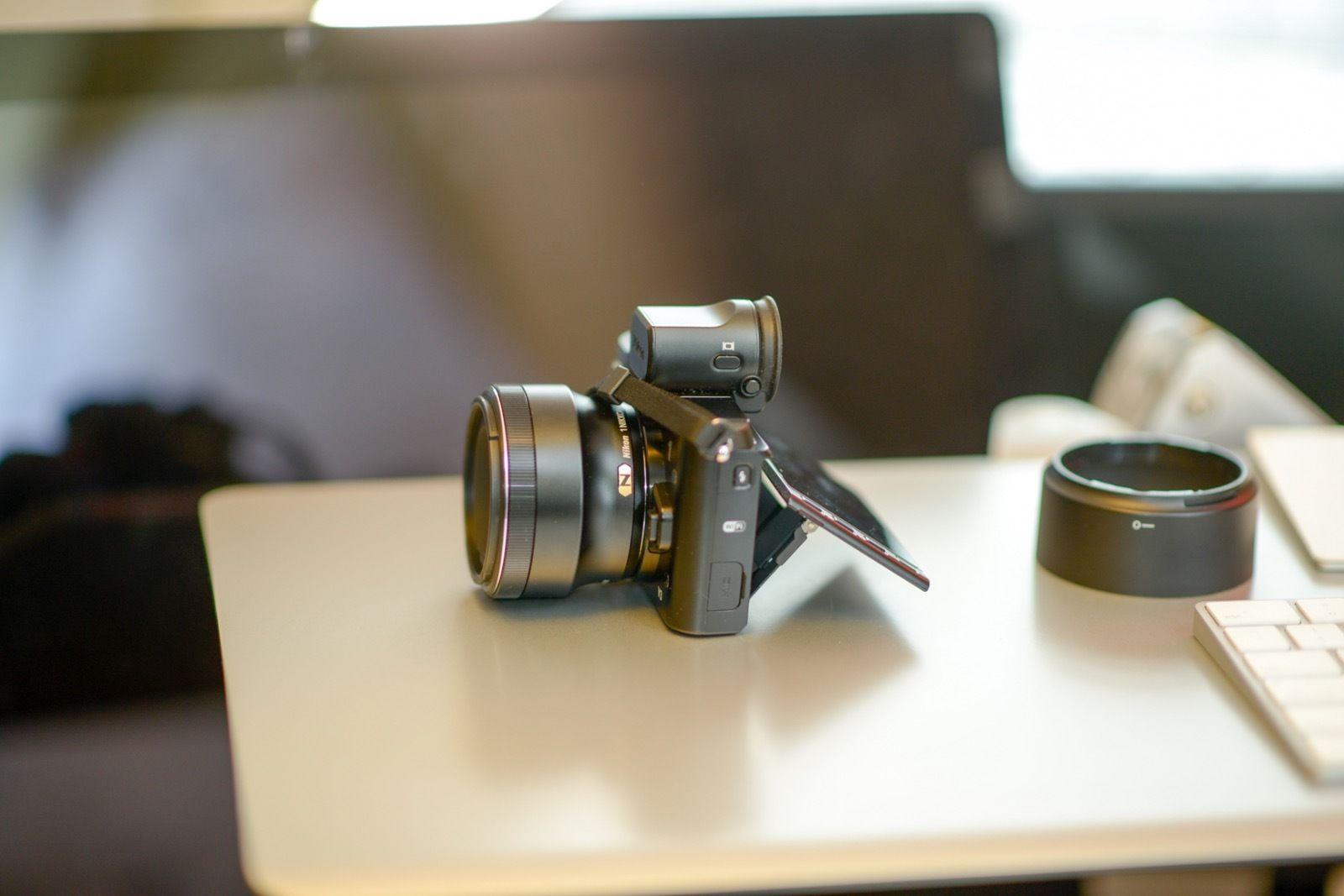 Nikon 1 Nikkor 32mm F 1 2 Lens On A V3 Lens Nikon F 1