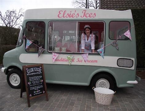 Home - Elsies Ices - Delicious Delights from a Vintage ice cream Van