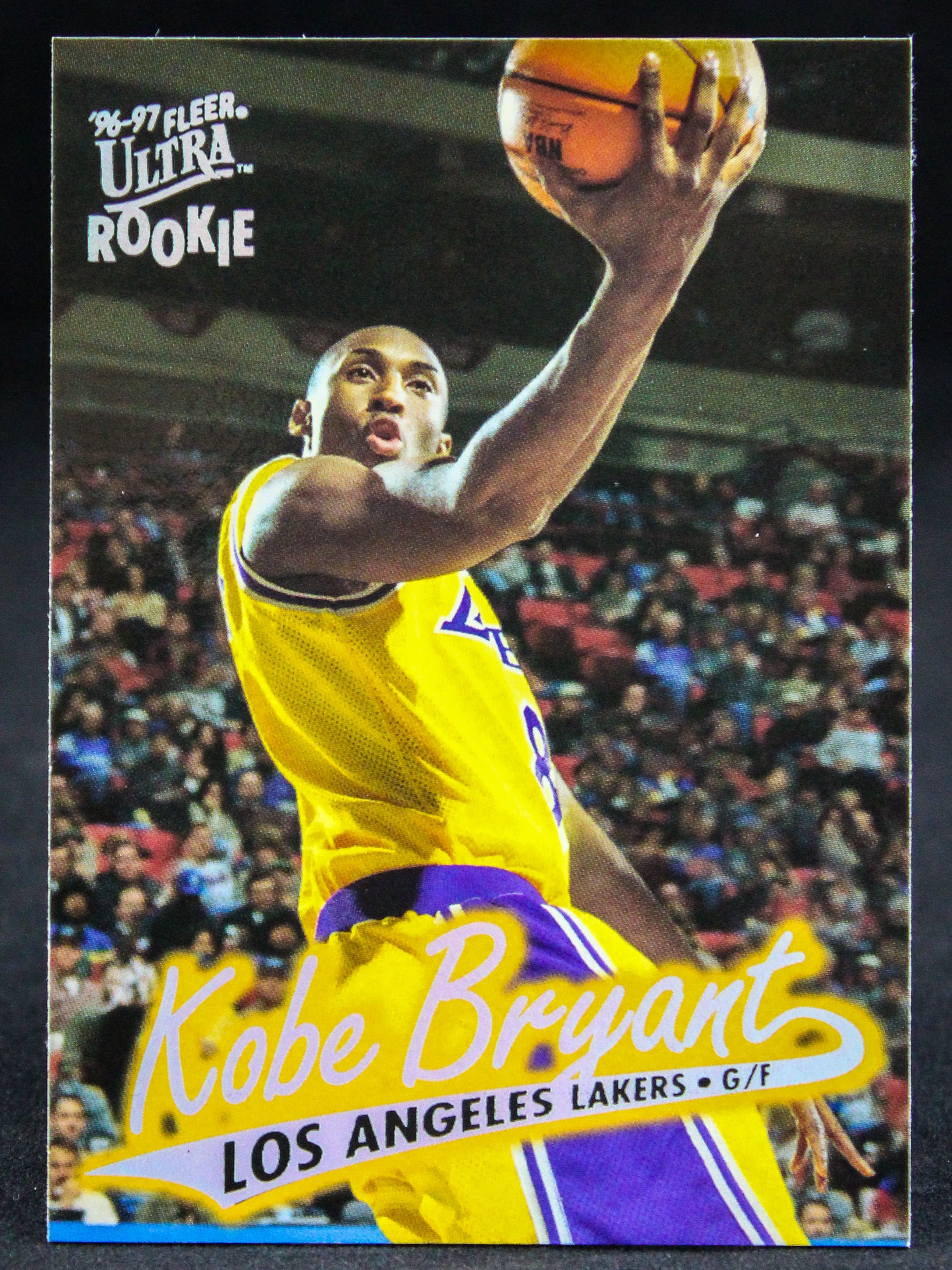 Kobe bryant 199697 fleer ultra rc by duval sports cards