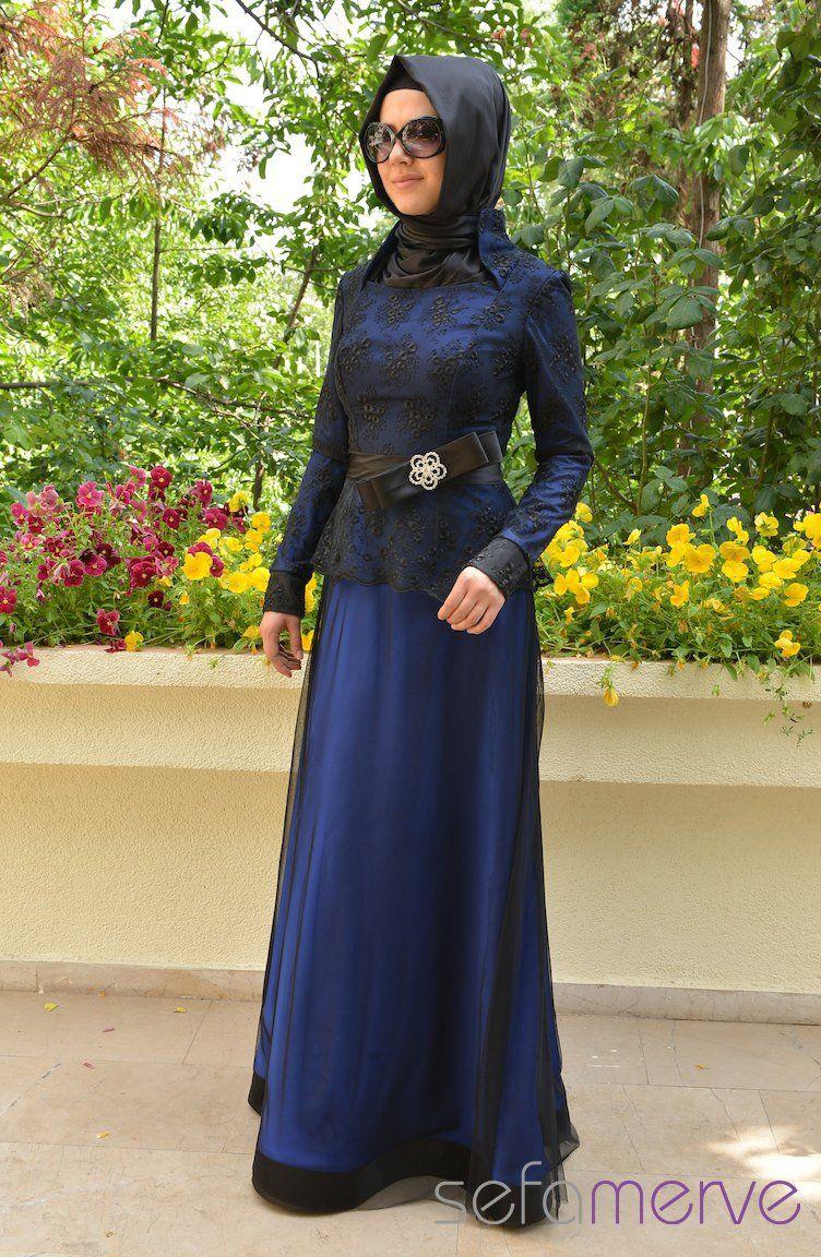 Muslimah dress by Sefamerve | Fashion | Pinterest