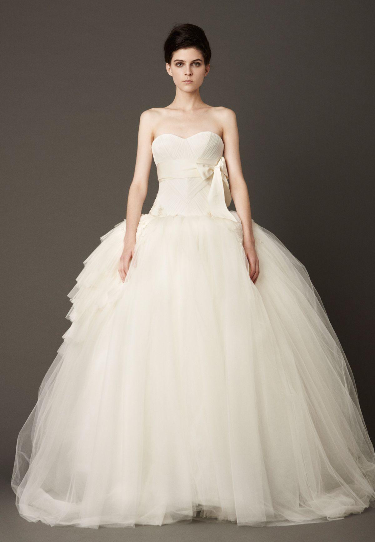 32++ Wedding dresses for petite brides vera wang info