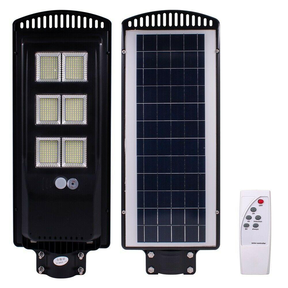 900w 576led Solar Wall Street Light Pir Motion Sensor Outdoor Garden Lampremote Solar Lamp Ideas O Solar Powered Lights Solar Wall Lights Solar Tiki Torch