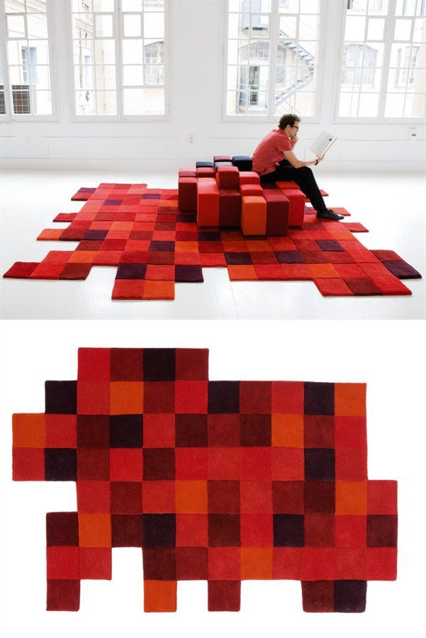 Wool #rug DO LO REZ By Nanimarquina | #design Ron Arad #