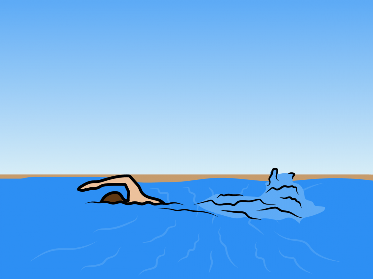 Myth: Always swim parallel to shore if you are caught in a rip current.