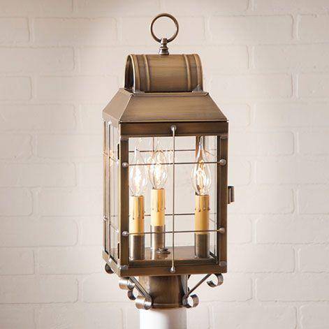 Marthau0027s Post Farmhouse Outdoor Lantern