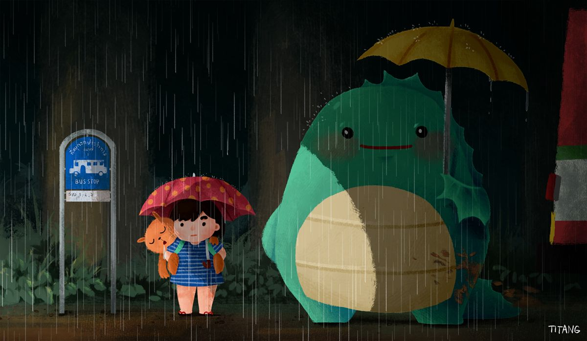 Totoro Parody With Images Totoro Parody My Neighbor Totoro
