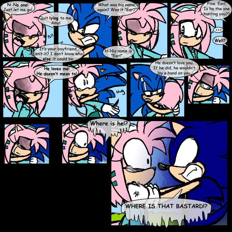 SONIC'S A FUN GUY, ISN'T HE? Previous Page: Next Page: