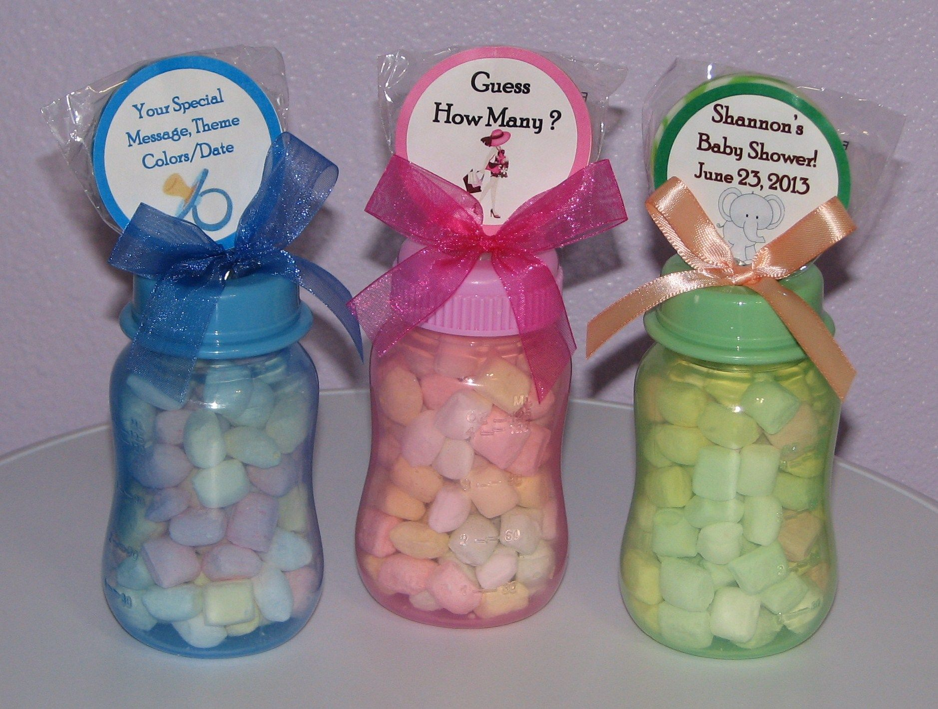 Baby Shower Favors To Make Yourself Baby Bottle Gifts For Baby