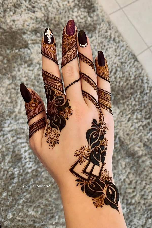 21 Henna Hand Designs That Are a Work of Art | Page 2 of 2 | StayGlam