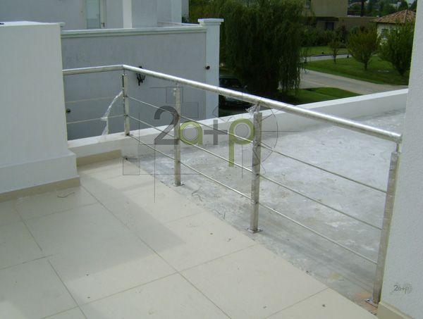 Baranda para balcones de tubo rectangular de acero   buscar con ...