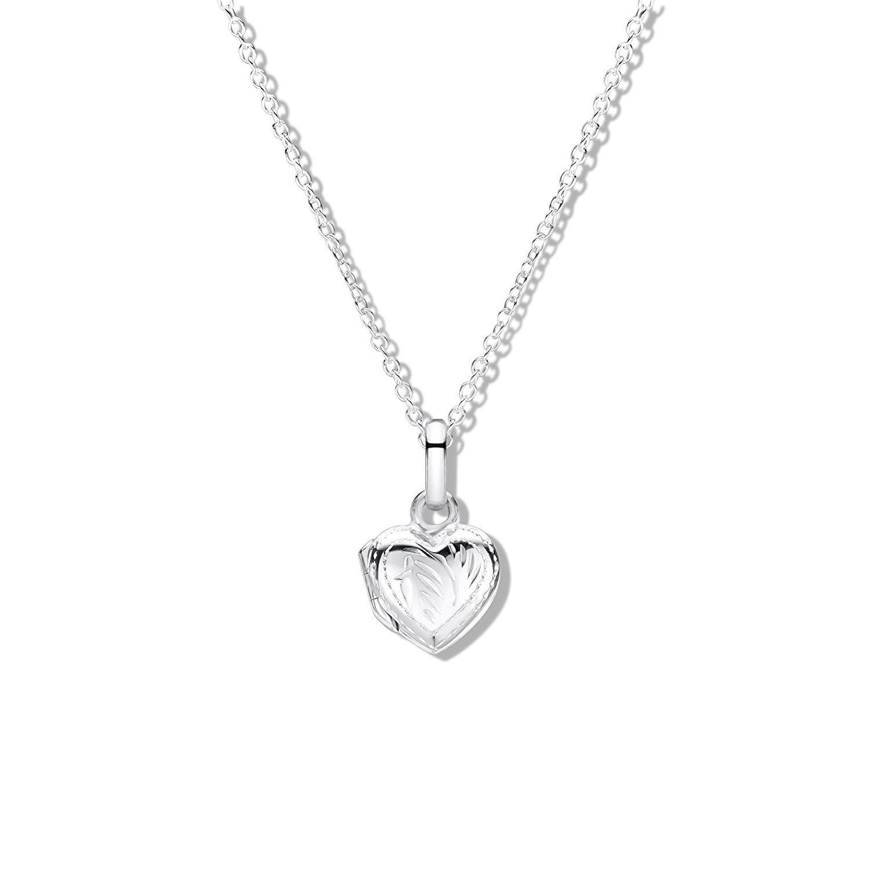 Sterling Silver Daisy Necklace (35.5cm) VF1yrFt5q