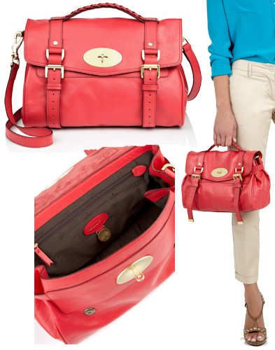 c907f3d531 germany mulberry alexa bag in watermelon the popular mulberry alexa has now  been updated with the