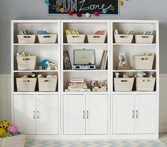 Kids Storage Furniture, Storage Wall System