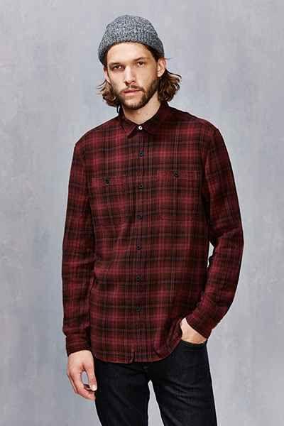 Koto Uka Overdyed Plaid Button-Down Shirt - Urban Outfitters ...