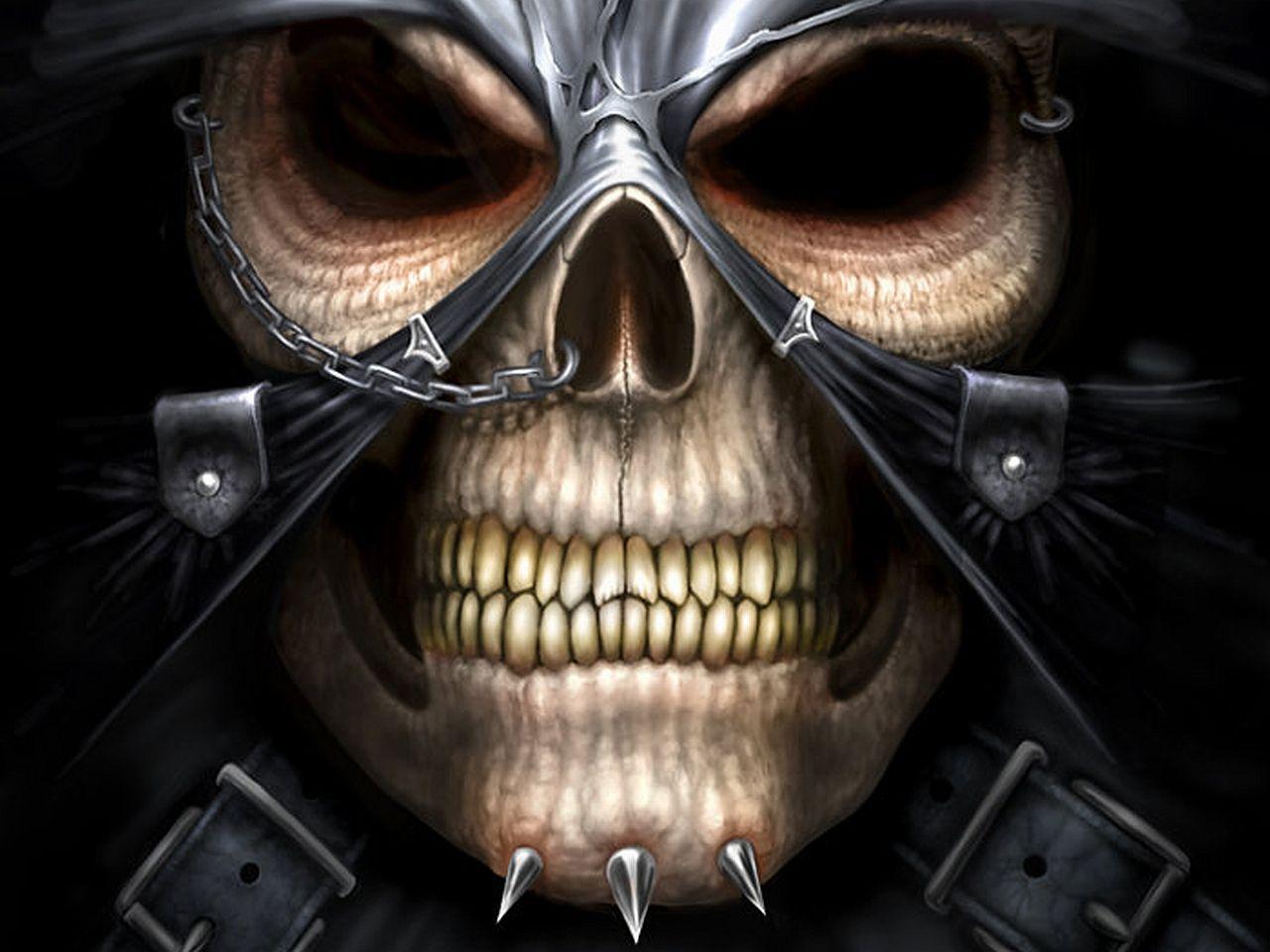 Scary skulls images evil skull wallpaper categories - Scary skull backgrounds ...