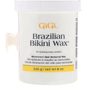 Gigi Spa Brazilian Bikini Wax شمع إزالة الشعر الدقيق 8 أوقية 226 جم Wax Hair Removal Bikini Wax Brazilian Bikini Wax