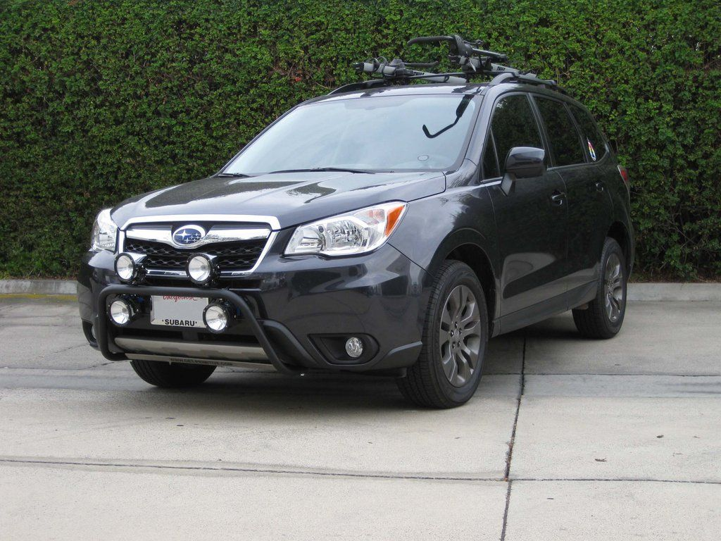 2014+ subaru forester 2.5i/xt rally light bar [su-sja-rlb-01