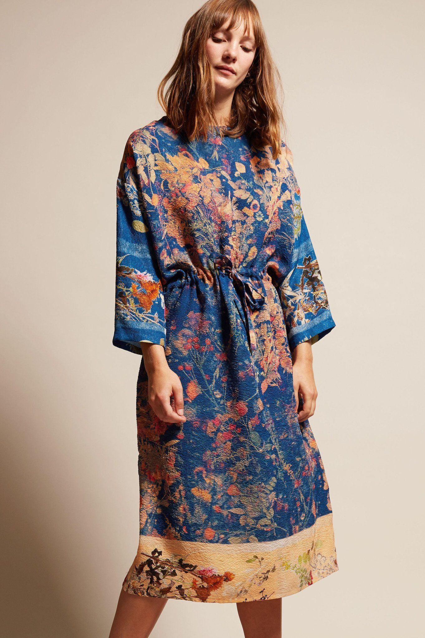 Anntian simple dress in print d threads pinterest simple