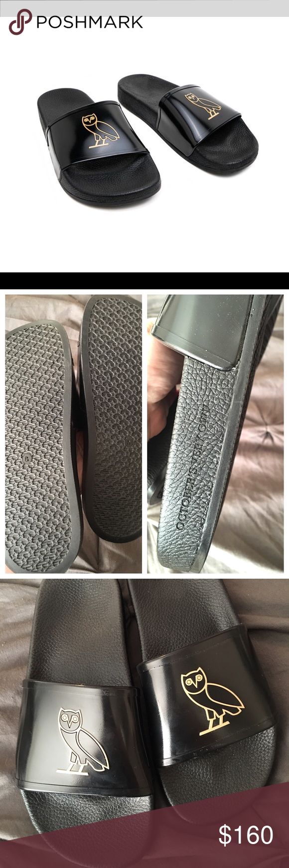 d303c2196a3b NWOT- OVO (Drake) Slides Slippers Flip Flops These are very rare OVO ...