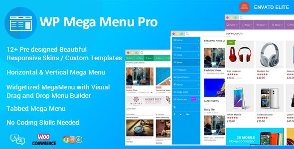 WP Mega Menu Pro - Responsive Mega Menu Plugin for WordPress - https ...