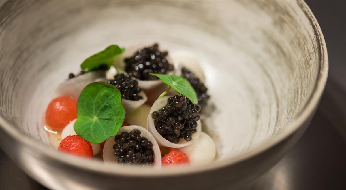 Royal table: pike caviar, cooking 66