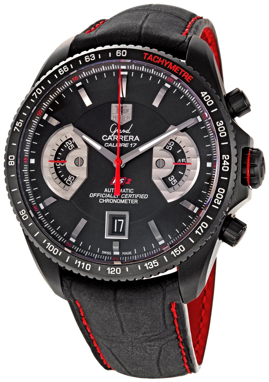 TAG Heuer Men's CAV518B.FC6237 Grand Carrera Automatic ...