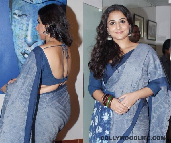 Pin by Shah Khan on Backless Blouse   Saree backless ...