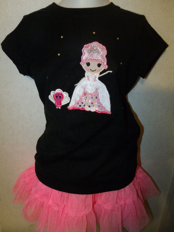 Goldie Luxe Doll Embroidered Onesie Shirt by rowanmayfairs on Etsy, $27.00