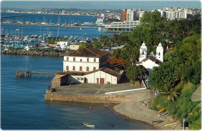 Salvador, Bahia, Brasil - Solar do Ferrão, atual Museu de Arte Moderna da Bahia