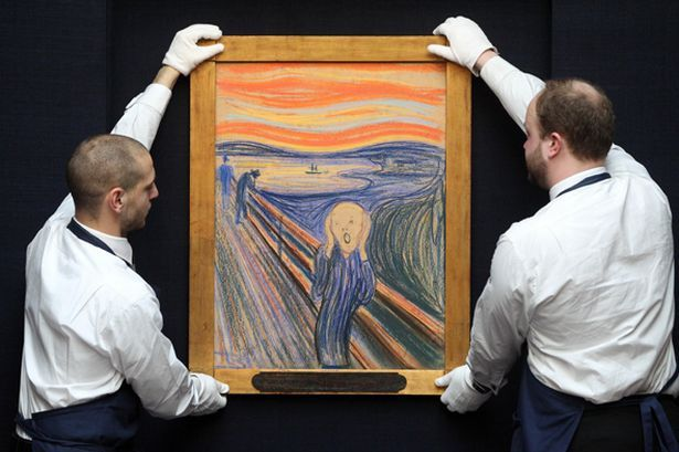 The Scream went for $119.9million at auction in New York yesterday - but which other artworks have commanded top prices?