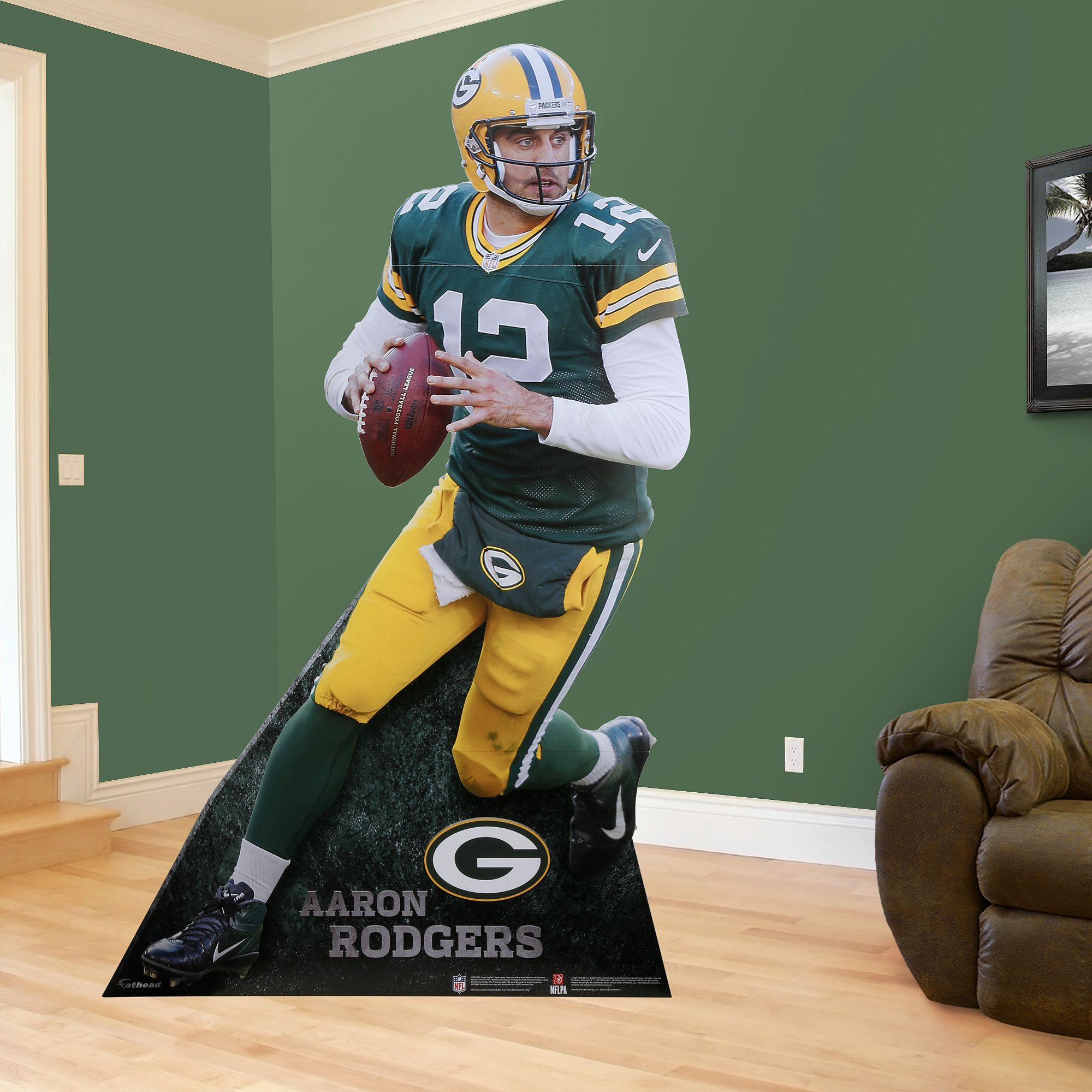 Aaron Rodgers Stand Out Aaron Rodgers Green Bay Packers Party Life Size