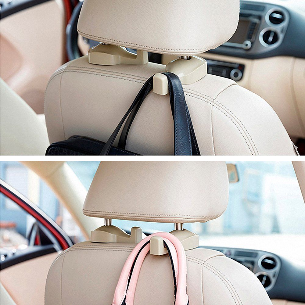 IPELY Universal Car Vehicle Back Seat Headrest Hanger