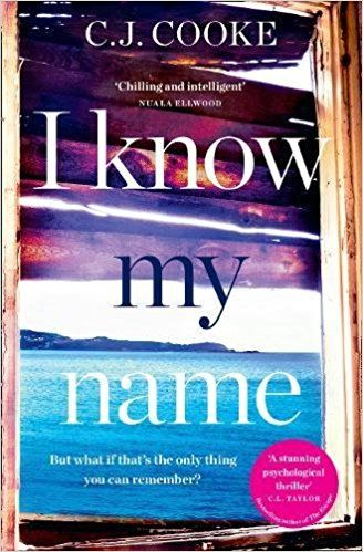 I Know My Name By C J Cooke Book Review Thriller Books Book