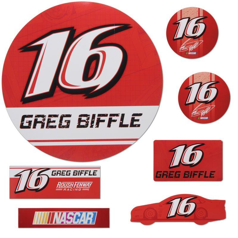 Greg Biffle 7 Piece Car Magnet Set