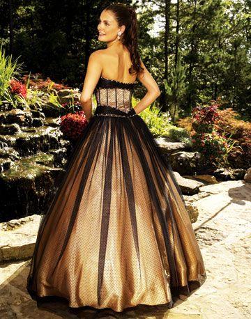 White Black And Gold Wedding Dresses 25 | Wedding dresses ...