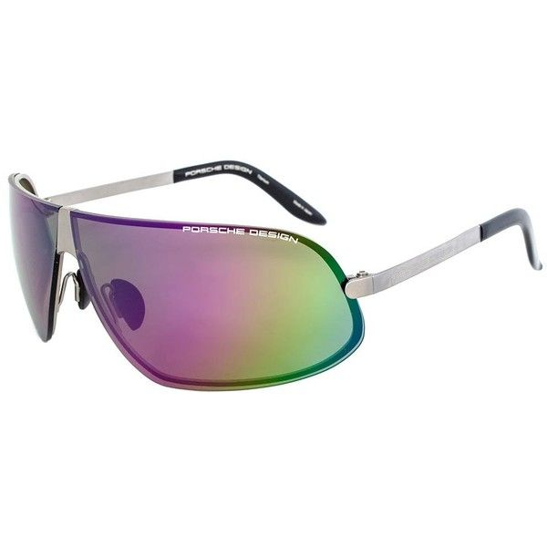 titanium eyewear 7x7p  Porsche Design P8564 A Titanium Sunglasses $199  liked on Polyvore  featuring accessories,