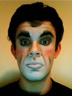commedia dell'arte makeup male - Google Search
