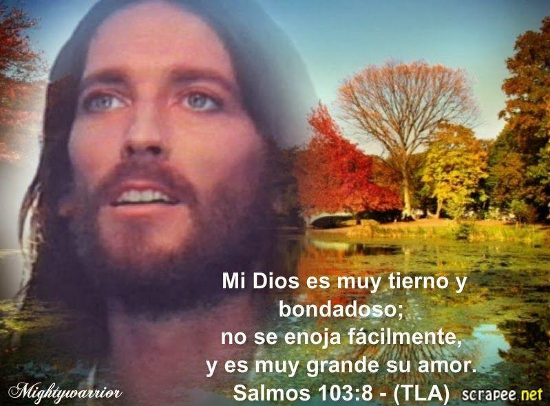 """JESUS PODEROSO GUERRERO: Salmos 103:8~~~"""" Dios es Tierno """""""