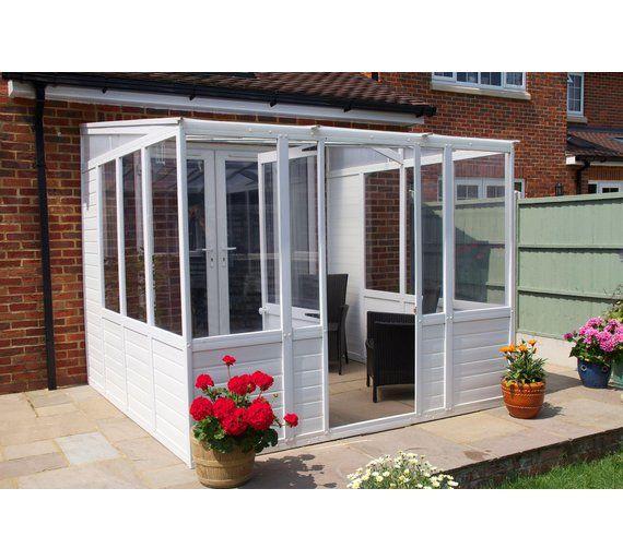 Buy Norfolk Greenhouses Sunroom Upvc Greenhouse 8 25 X 8 25ft At